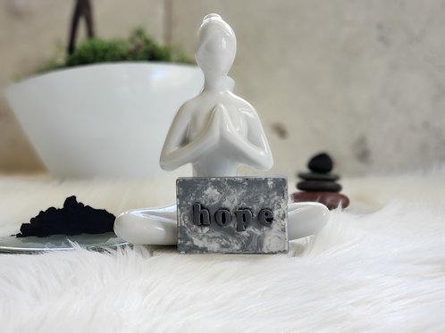 Marble Personalized Name Soap (1BAR) Activated Charcoal