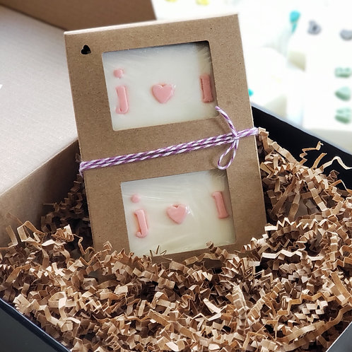 Couple Initial Soap Gift Set (2 BARS)
