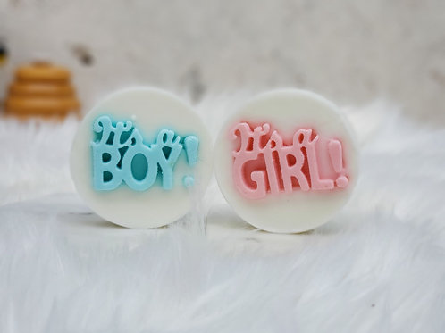 Baby Boy / Baby Girl Party Favor Soap (set of 10)