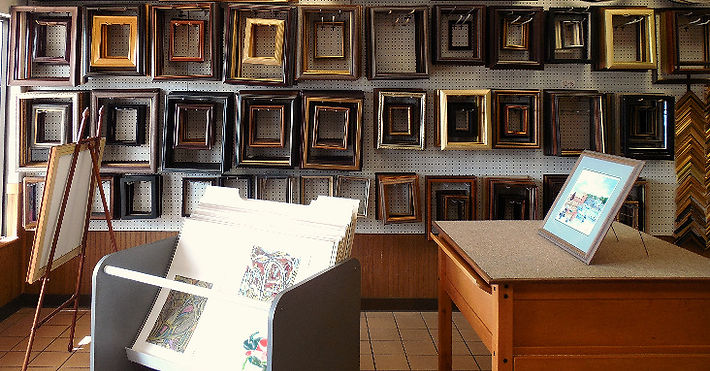 Find quality and affordable custom framing in the heart of Doylestown, PA