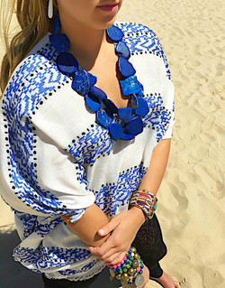 The Blue City Chunky Necklace