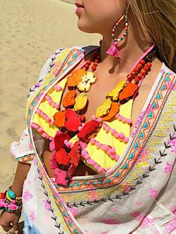 Fiesta Market Tassel Earrings