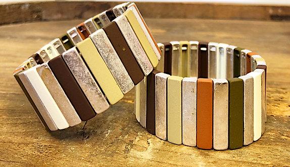 Wide Tile Bracelet