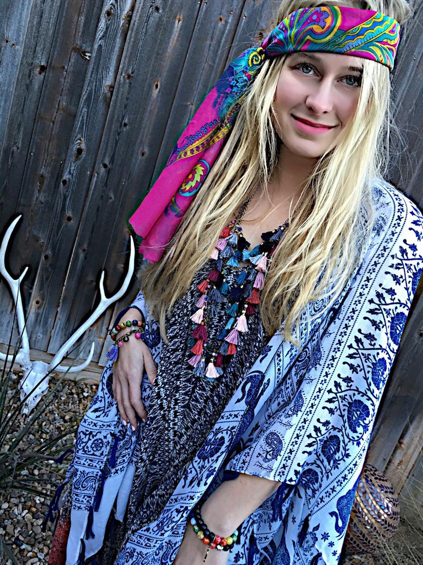 Gypsy Multi Tassel Necklaces