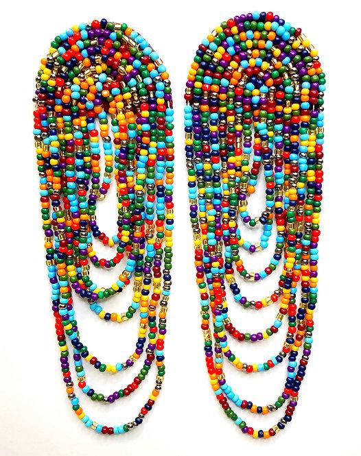 Kaleidoscope Chandelier Earrings