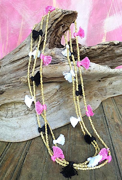 Sahara Desert Tassel Necklace