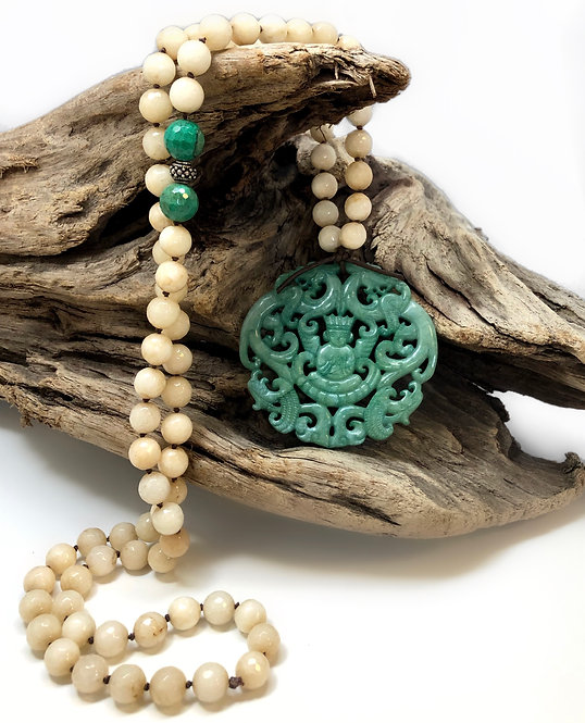 Jade All The Way Necklace