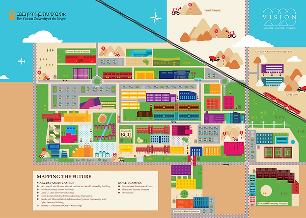 BGU map
