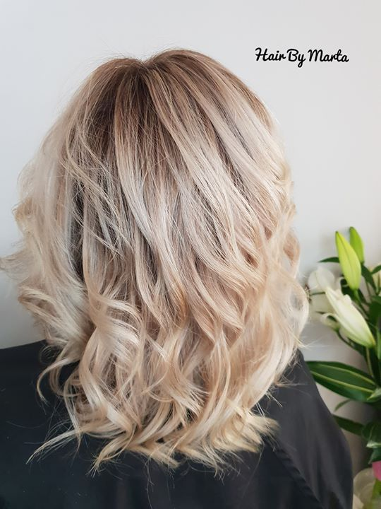 Blond Balayage Hair By Marta