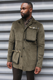 Corduroy Jacket w/paper bag pockets