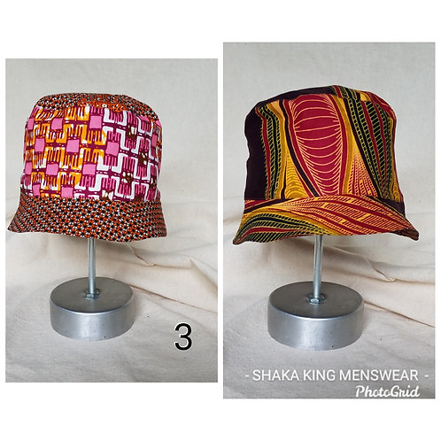 African Wax Bucket-Reversible