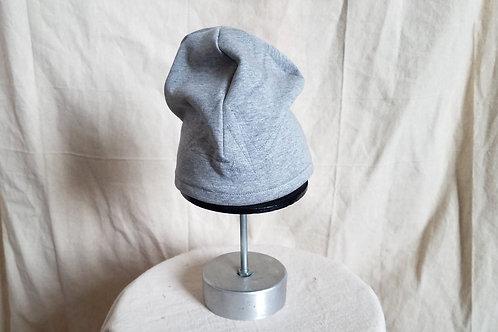 Grey Sweat Skullie w/Abzag Stitching