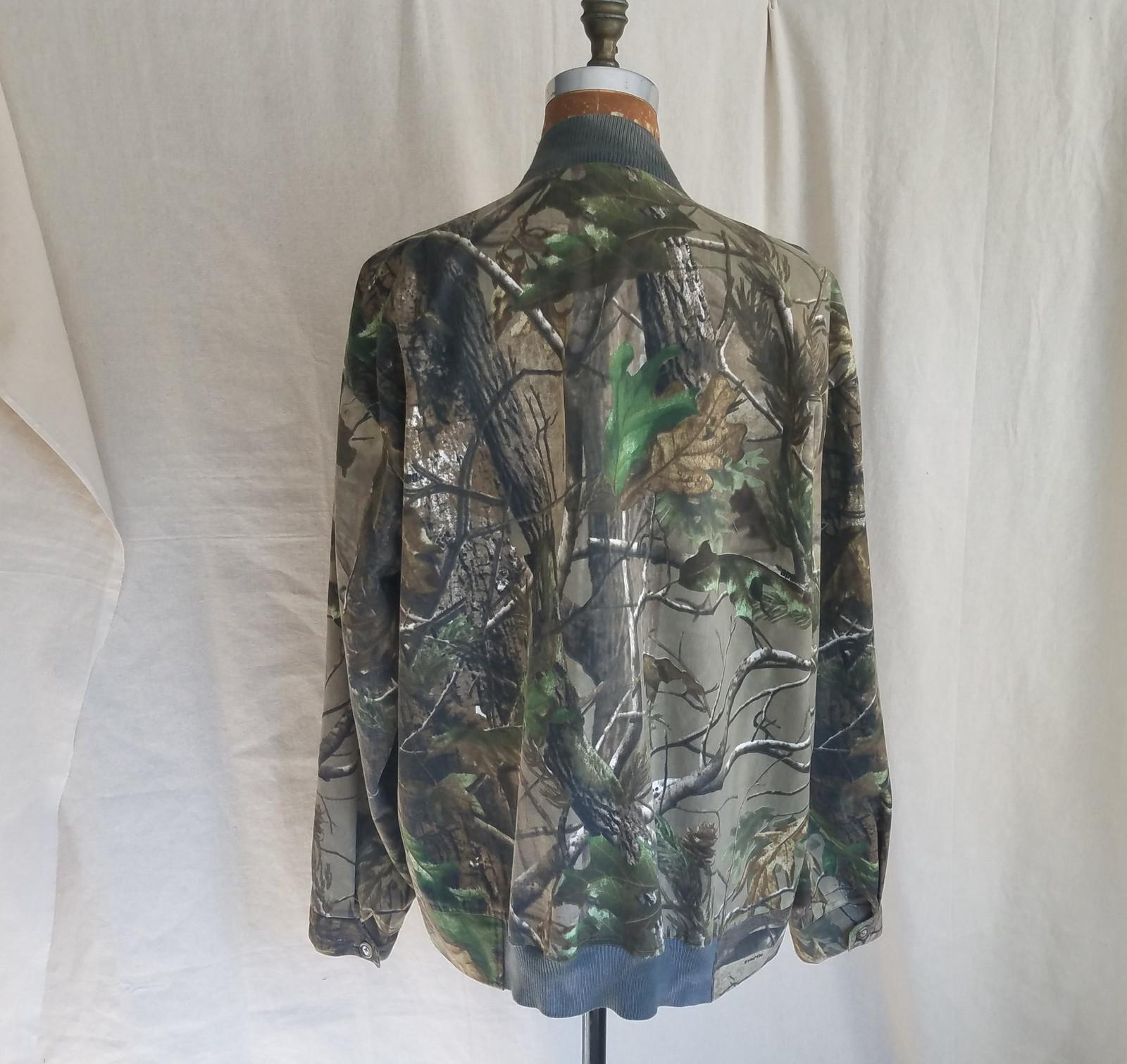 7cae0644db64b Soft Tailored Mens Fashion. Realtree Wooland Print Bomber Jacket ...