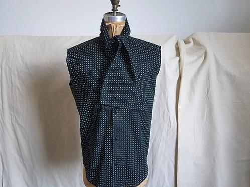Sleeveless MT Scarf Shirt