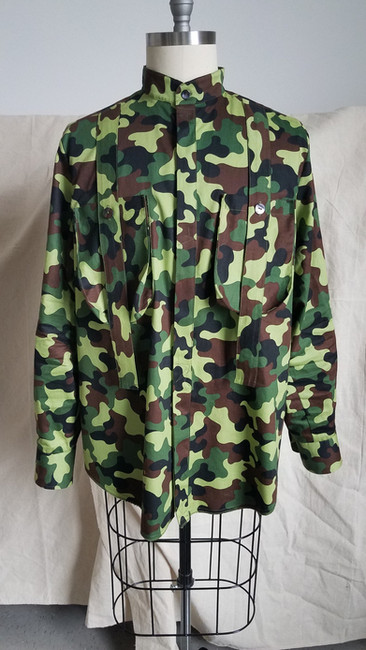 "Camo ""Bag Pocket"" Ban Shirt"
