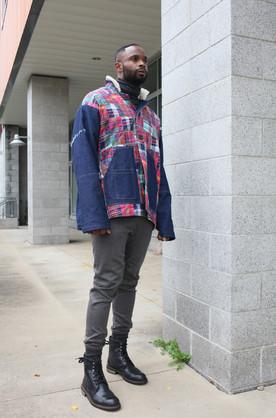 Denim/Madras Jacket