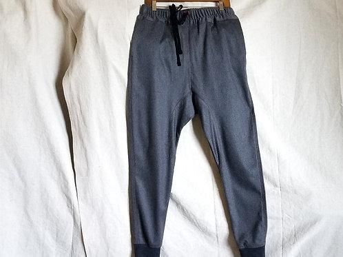 Cashmere Jogger Dropcrotch Pant