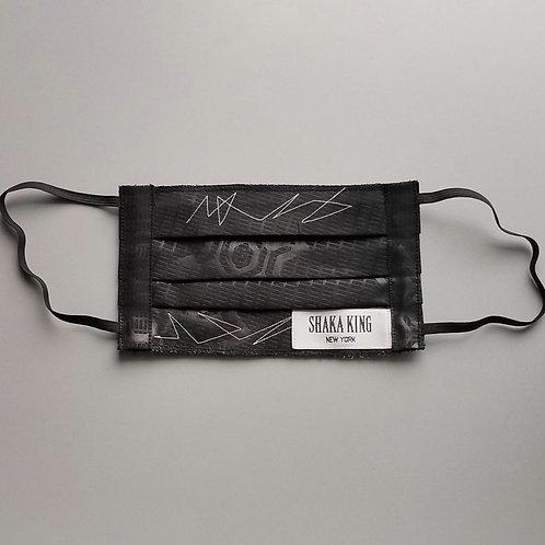 Rona Mask w/zigzag stitching & label