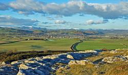 View of Ulverston from Birkrigg