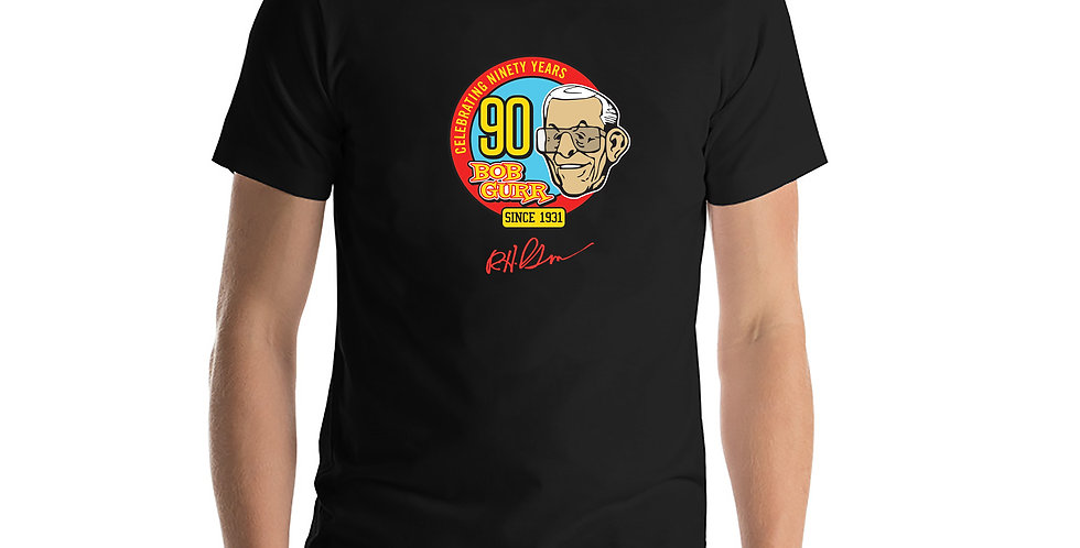 Bob Gurr 90th Logo Signature T-Shirt