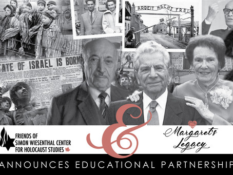 Margaret's Legacy Educational Partnership with Friends of Simon Wiesenthal Center