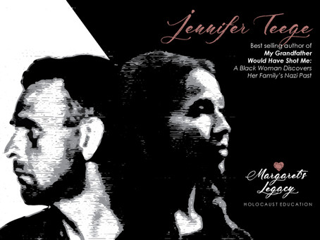 Jennifer Teege Speaking at Two Collaborative Margaret's Legacy Events: January 27th, 2019