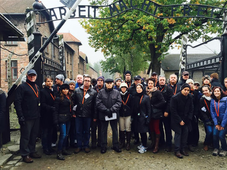 """From Compassion to Action:"" Danna visits Auschwitz"