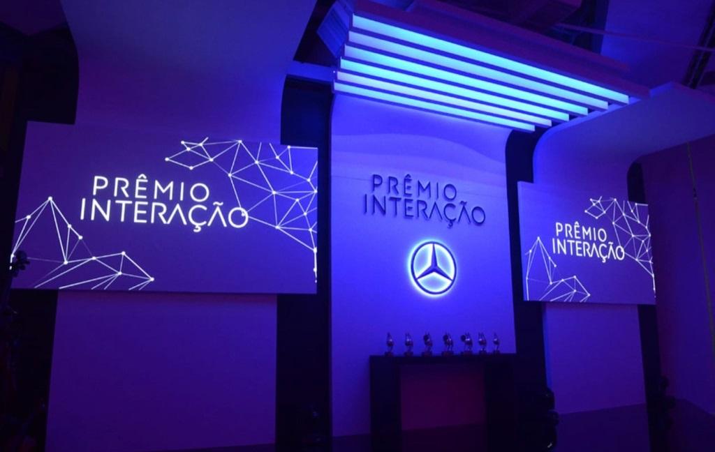 Mercedes benz - prêmio interação