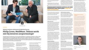 MediMaat in het vakblad voor zorginnovatie - ICT&health