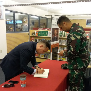 Book Signing at CGSC