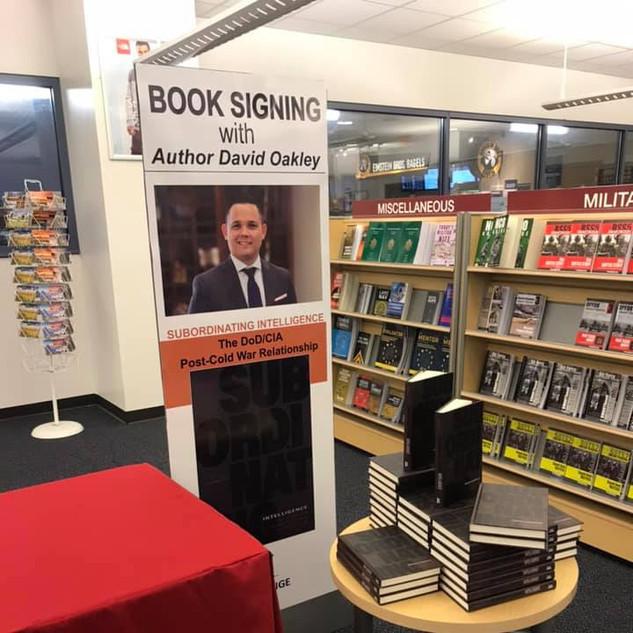 Book Signing at CGSC