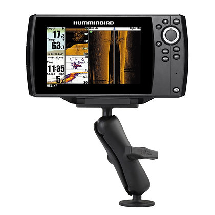 RAM® Drill-Down Double Ball Mount for Humminbird Helix 7
