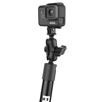"RAM® Tough-Pole™ 22"" Camera Mount with RAM® Track Ball™ Base"