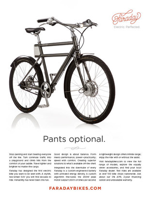 Bicycling Magazine Ad
