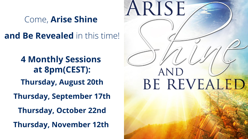 Arise Shine and Be Revealed Online Course - 4 Sessions