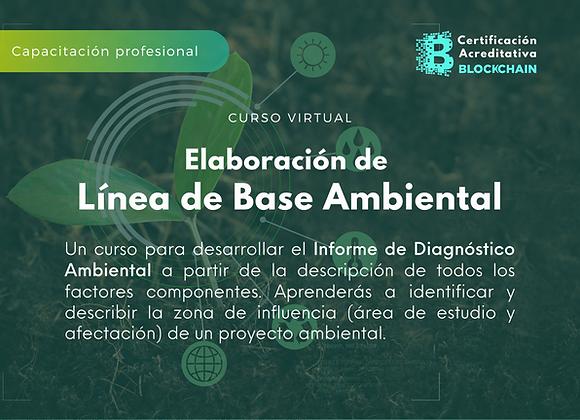 Curso Virtual Elaboración de Línea de Base Ambiental