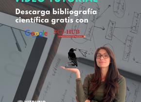 ¿ Cómo descargar bibliografía científica gratis?