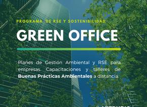 """Programa de RSE y Sostenibilidad """"GREEN OFFICE"""""""