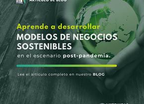 ¿Cómo desarrollar Modelos de Negocios Sostenibles en un escenario post- pandemia?