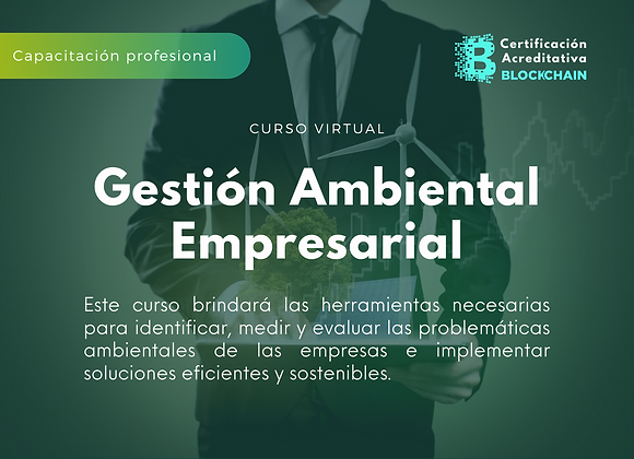 Curso Virtual Gestión Ambiental Empresarial