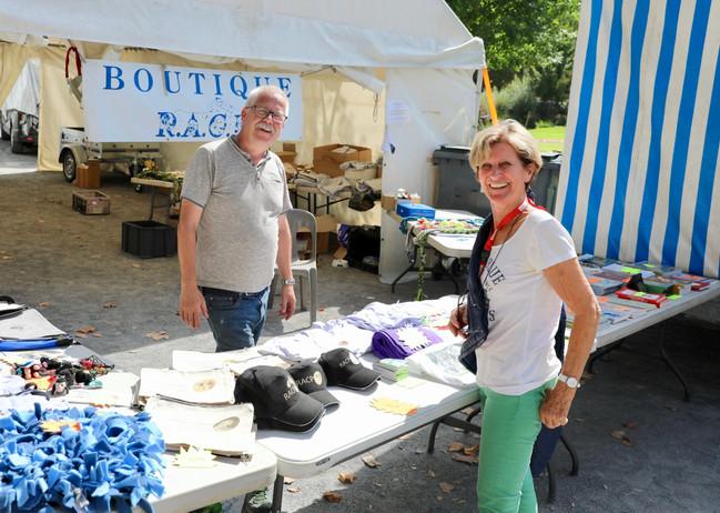 Christian Uhrig et Marie Maillot à la Boutique