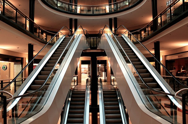 mall, shopping