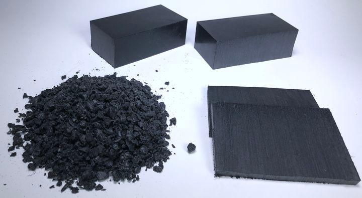 foamed polyethylene regrind