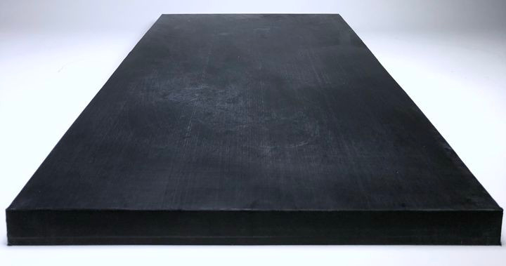 polyethylene block from 100% regrind