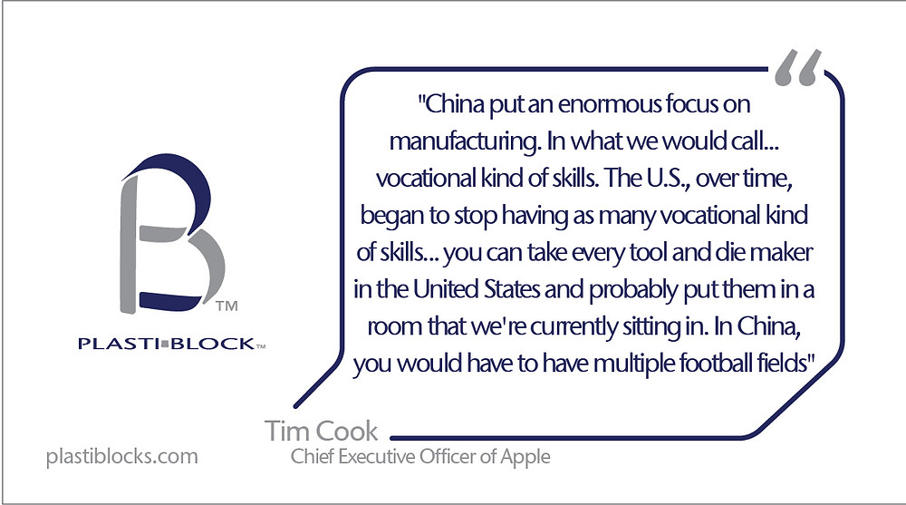 Tim Cook - About Manufacturing