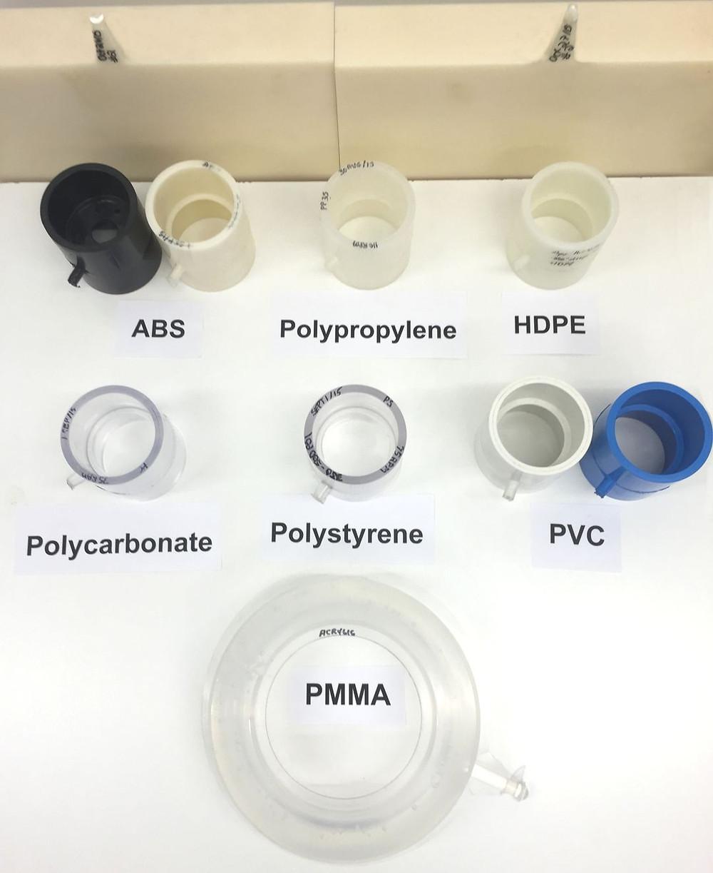 ABS, PP, HDPE, PVC, PC ond other plastics