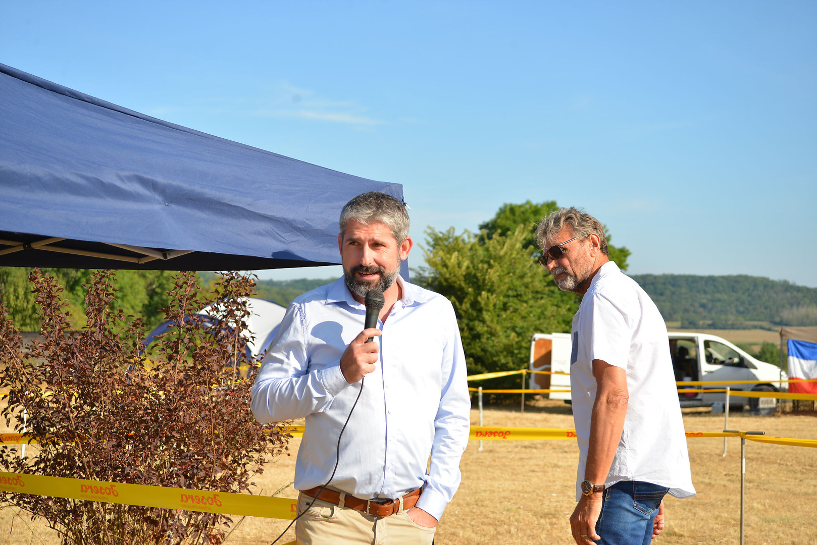Norbert Gaineche et Christian Rei, les juges