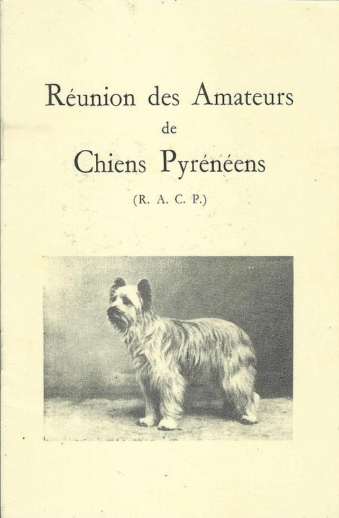 Ancien Standard du Berger des Pyrénées (R.A.C.P.)