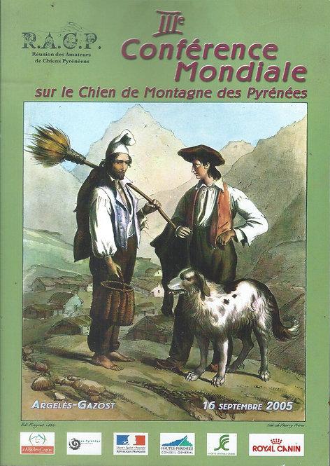 3ème Conférence Mondiale sur le Chien de Montagne des Pyrénées