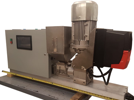 Compact Extruder Is Potent, Energy Efficient